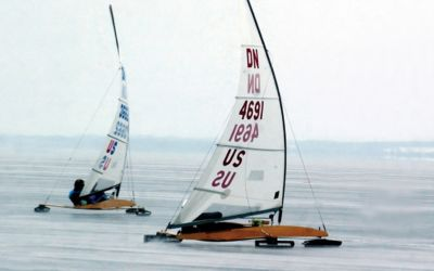 Ice Boating in Northern Michigan is a Winter Thrill Like No Other