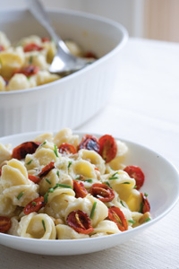 Pasta with Mascarpone and Roasted Tomatoes