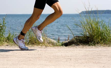 There's nowhere pretty to run than in Northern Michigan.