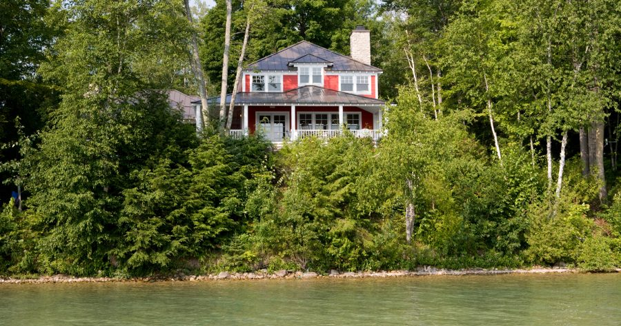 summer cottage on walloon lake