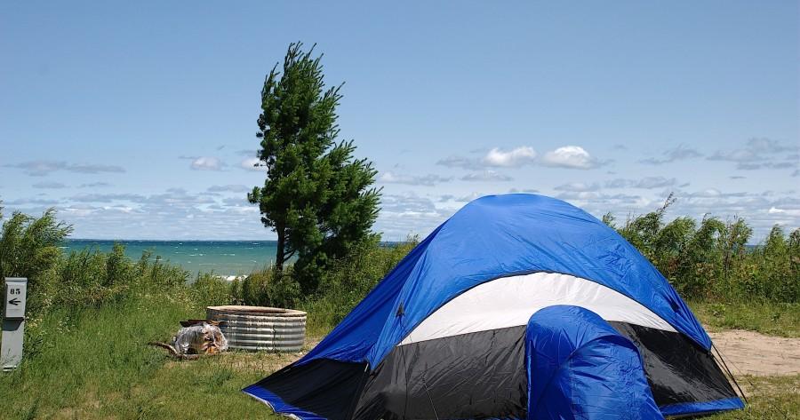Bruce and Christie: Camping in Michigans Upper Peninsula