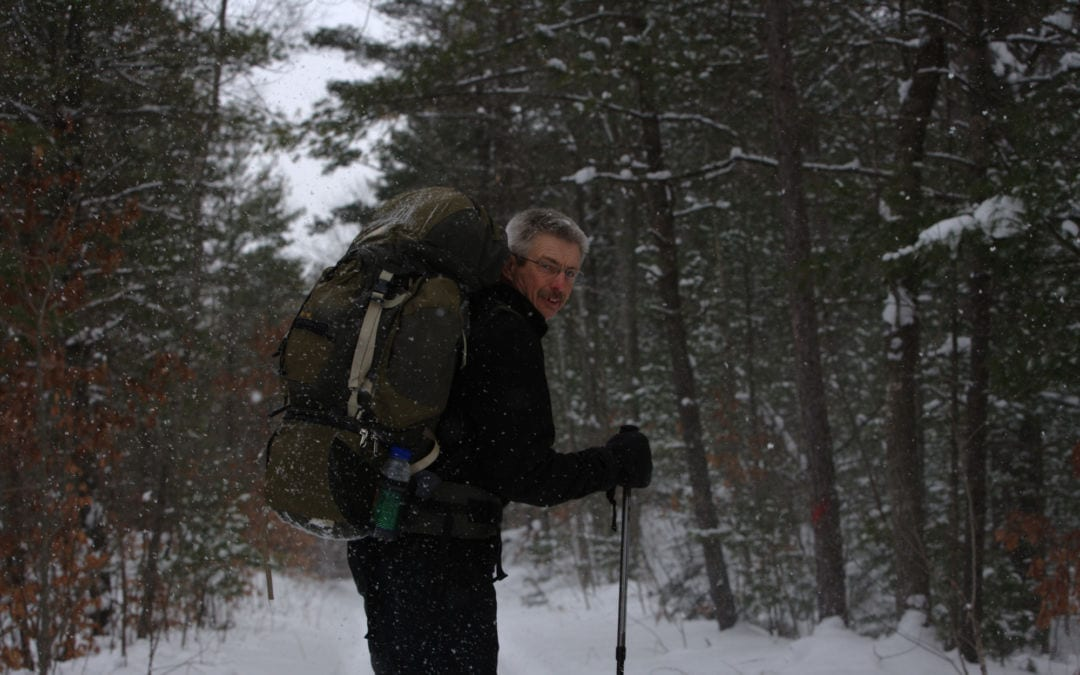 North Country Trail in Winter