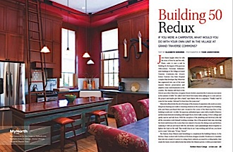 Get the full feature with photos of this Building 50 Redo!