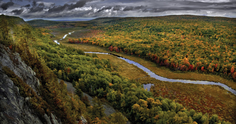 Michigan's Porcupine Mountains