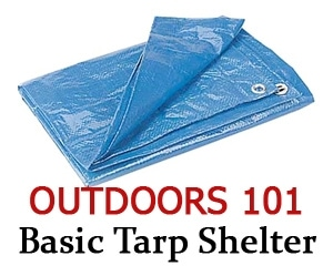 building a basic tarp structure