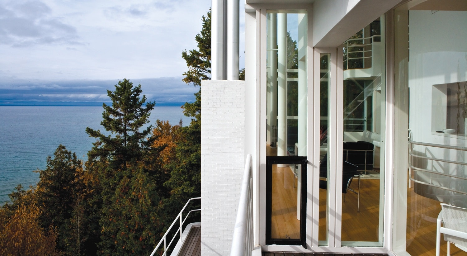 Inside an Architectural Icon: The Douglas House in Harbor Springs