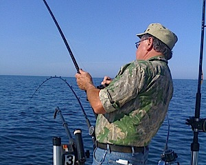 Leelanau fishing charters on lake michigan for Traverse city fishing charters