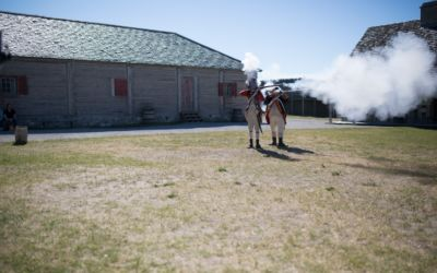 Deadly Lacrosse Game in Mackinac Straits at Fort Michilimackinac in 1763