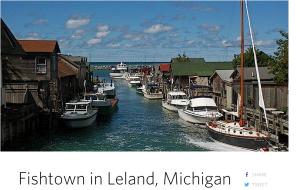 fishtown in leland michigan