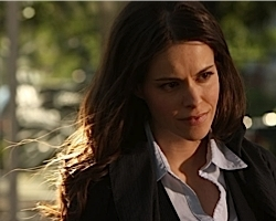 "Emily Hampshire, lead actress, ""The Trotsky"""