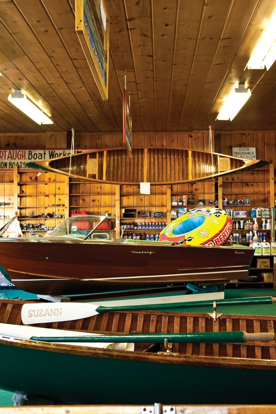 Where Wooden Boats Rule Explore The World Of Michigans Les