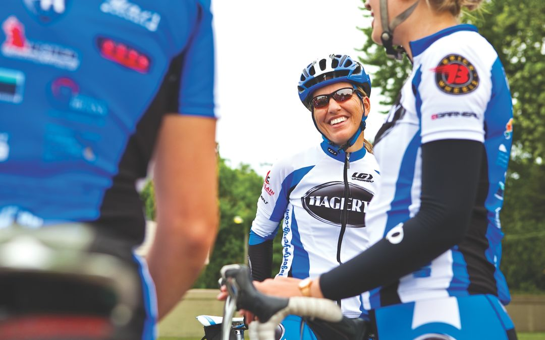 Traverse City's Susan Vigland, Michigan's Number One Road-Bike Racer