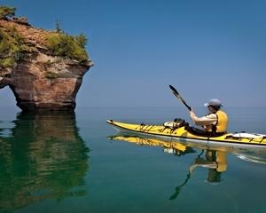 Kayak Northern Michigan Lake Huron Paddling Workshop In
