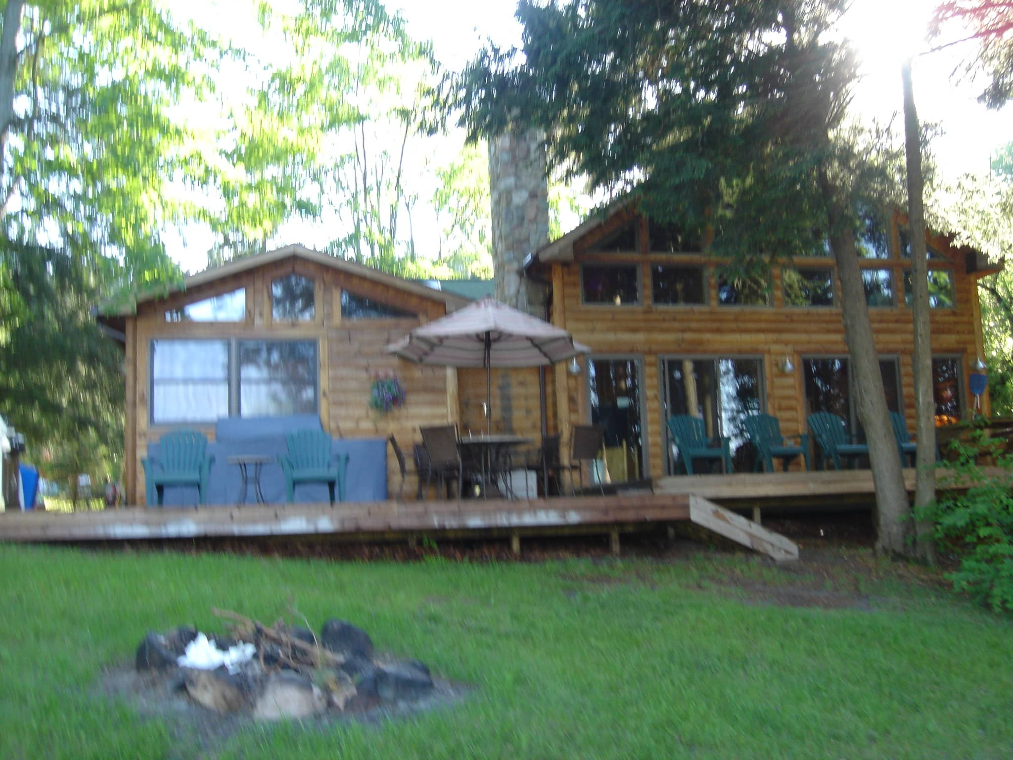 cabin lake storm damage cabins houghton rentals watch youtube