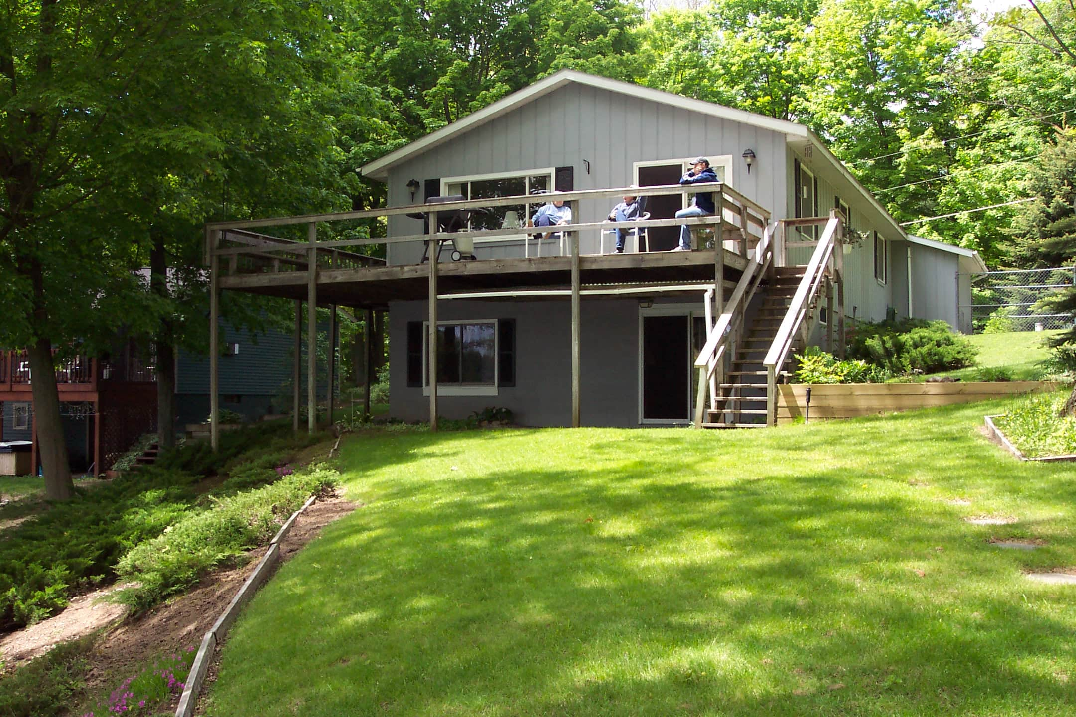 cabins rentals resort one on crest bedroom lakethe houghton lake cabin the