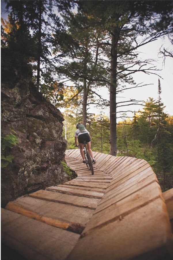 copper harbor bike trails, biking,