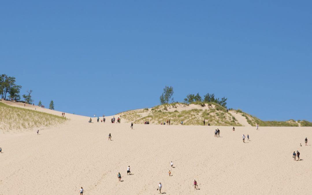 sleeping bear dune climb