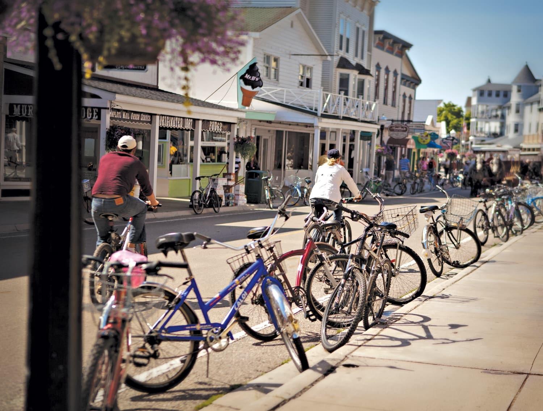 Mackinac Bike Barn - Bike Rentals - Mackinac Island, MI ... |Mackinac Island Bicycle Cafe