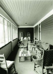 North Branch Outing Club, Au Sable River, quiet on porch