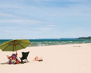 Top Beaches In Frankfort Manistee Ludington