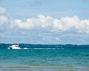 Get on the Water in Charlevoix, Torch Lake and Chain of Lakes
