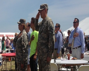 Traverse City Honors U.S. Heroes at the 2013 National Cherry Festival