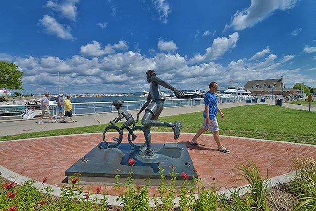 Iconic Traverse City Sculpture Clinch Park Marina