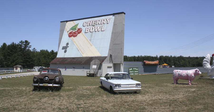 Since 1953, The Cherry Bowl Drive-In in Honor has been an iconic Northern Michigan attraction.