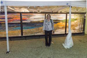 Sleeping Bear Dunes Quilt Wins Grand Rapids ArtPrize