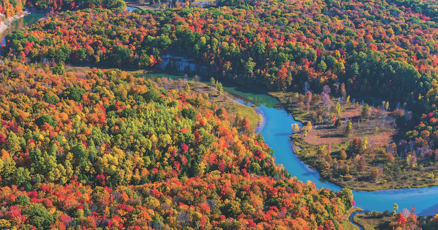 Go on a Manistee River Valley Fall Color Tour - MyNorth.com