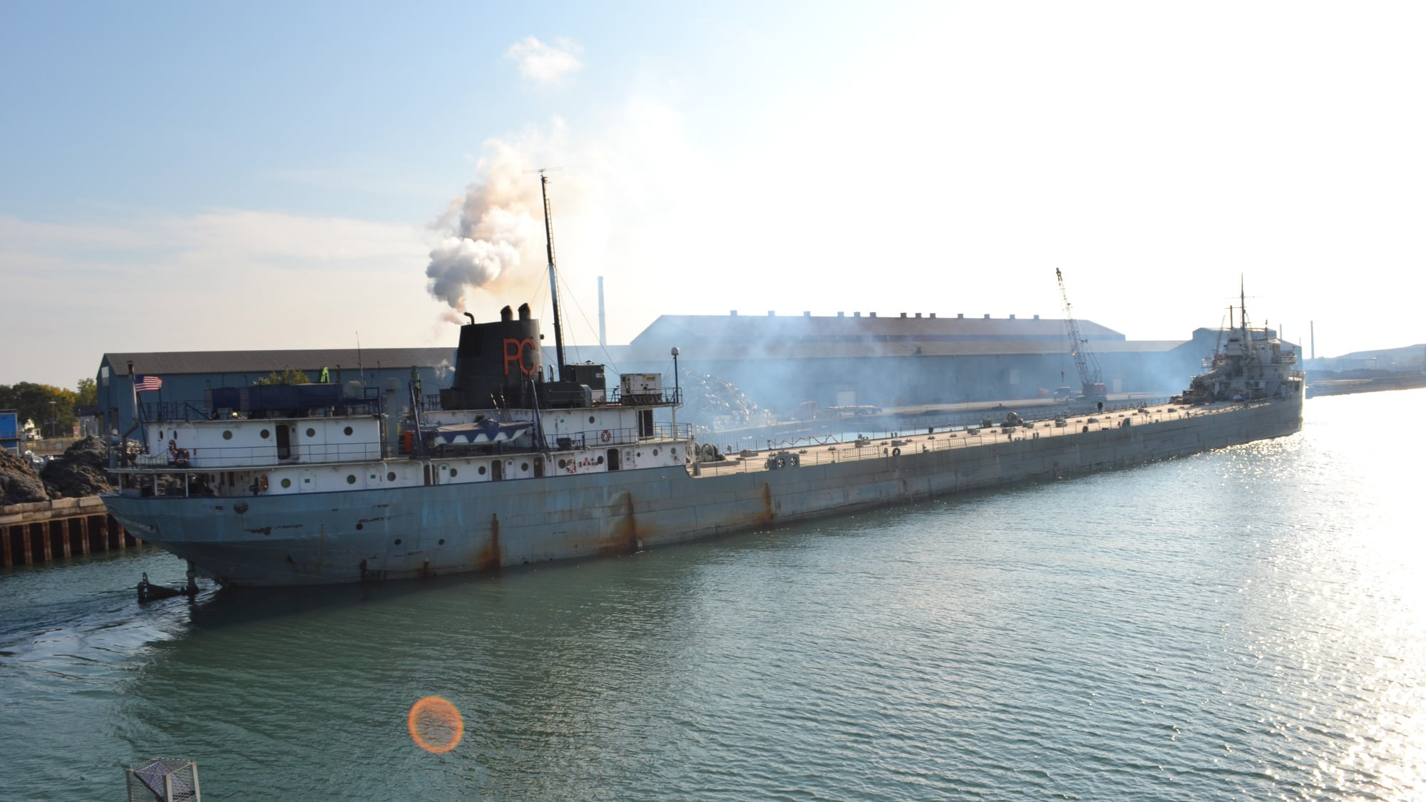 St Mary S Challenger 107 Yr Old Great Lakes Freighter