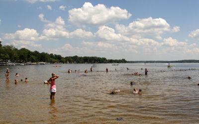 Cadillac's Lake Mitchell and Lake Cadillac