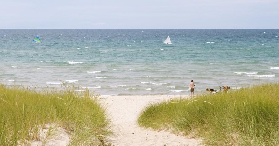 Manistee Beach