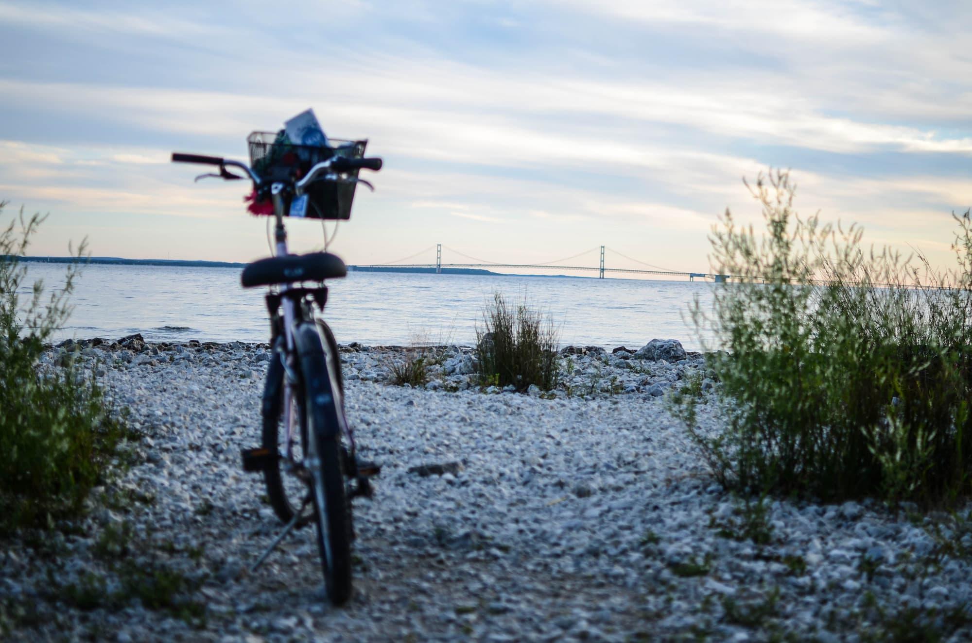 Mackinac Wheels and Mackinac Bike Barn sells new bikes on ... |Mackinac Island Bicycle Cafe