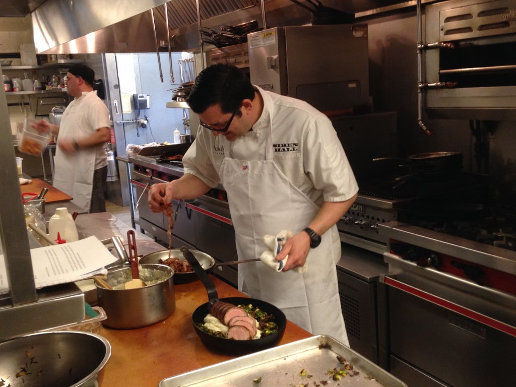 Siren Hall: Chef Michael Peterson.