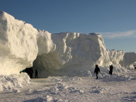 michigan ice caves