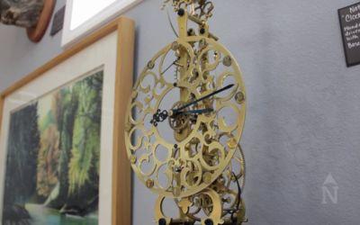 Video: Northern Michigan's Bower Clock Company