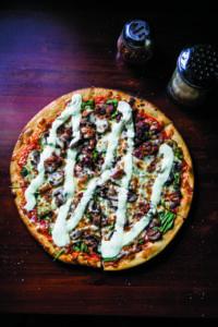 Pizza Funghi Full Moon Pizza