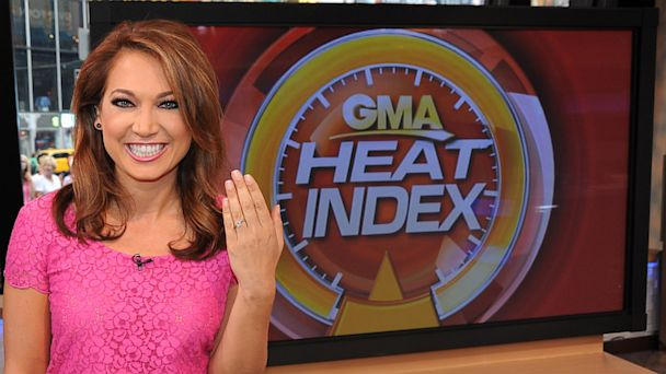 Good Morning America's Ginger Zee