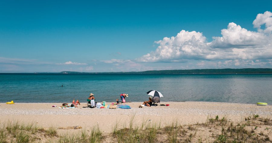 Sleeping Bear Dunes beaches