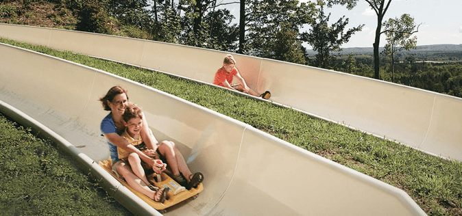 Crystal Mountain Slide