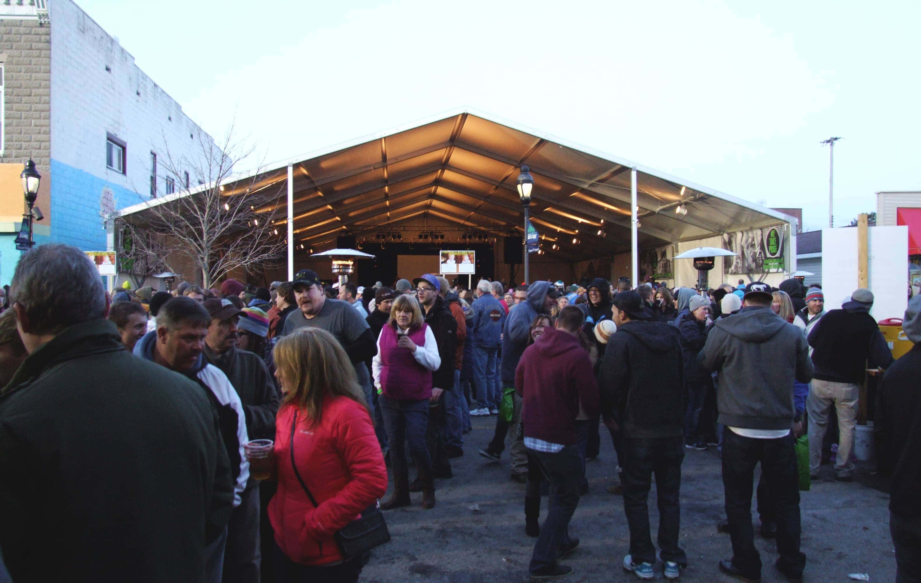Short's Brewing Anniversary party