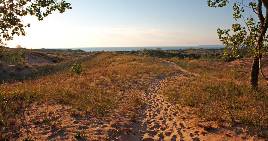 Sleeping Bear Dunes Hiking
