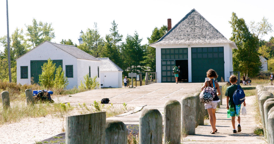 Sleeping Bear Dunes Visitor Center