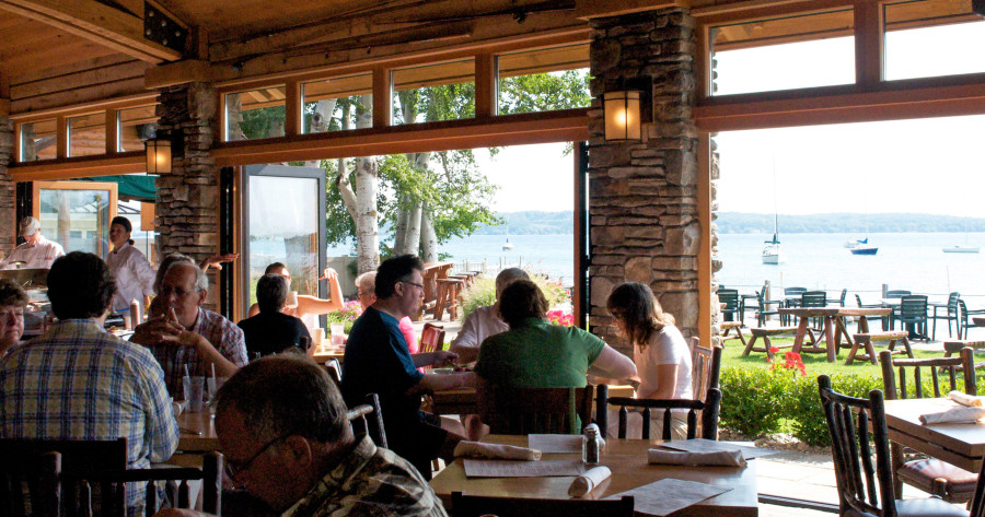 Apache Trout Grill in Traverse City