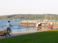 Traverse City biking