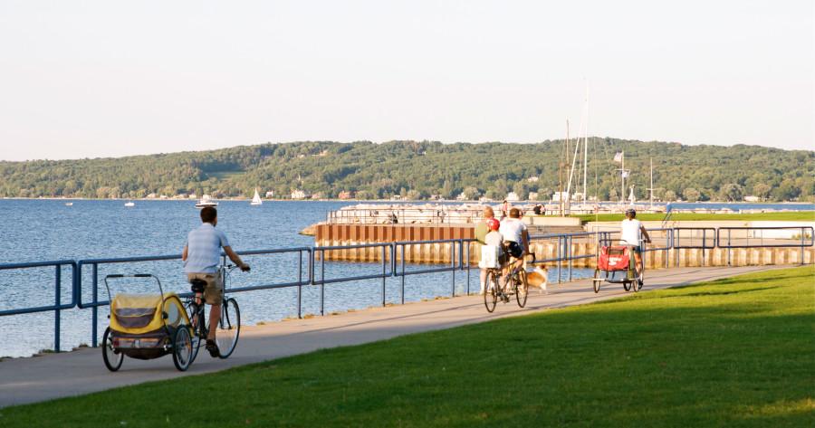 Traverse City biking