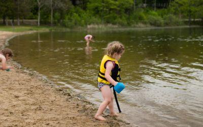 Northern Michigan Kids Beach Safety