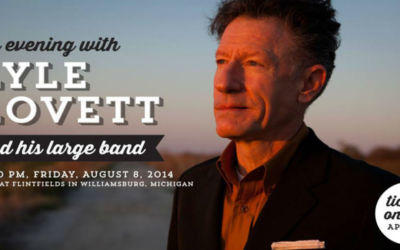 Lyle Lovett and His Large Band to Perform at Flintfields
