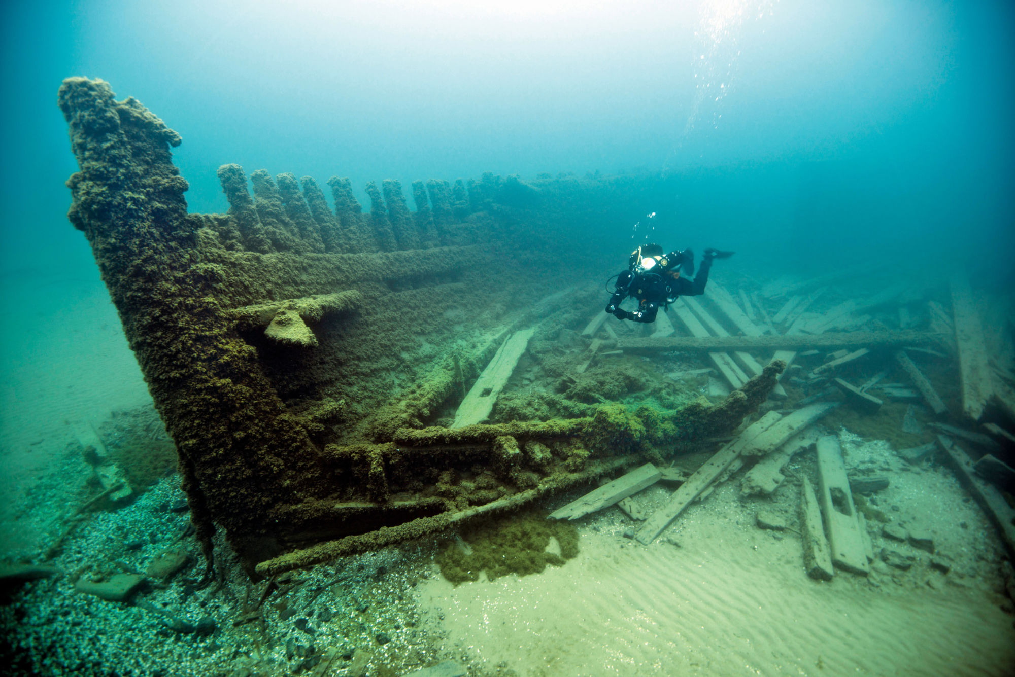 Thunder Bay Wrecks Near Alpena A Northern Michigan Diving